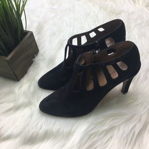 Alaia Heeled Cut Out Booties 36.5